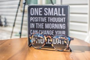 Picture of positive thought